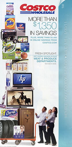 January 2011 coupon cover