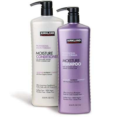 Kirkland Signature Shampoo and Conditioner