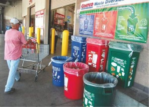 Recycling Outside
