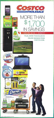 2011 March costco coupon book