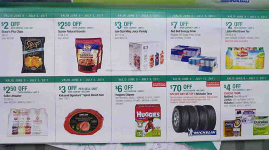 June 2011 Costco Coupon Book