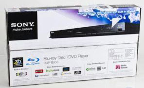 Sony BDP-BX58 Blu-Ray Player