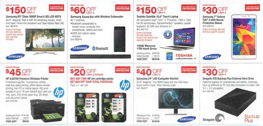 August 2014 Costco Coupon Book
