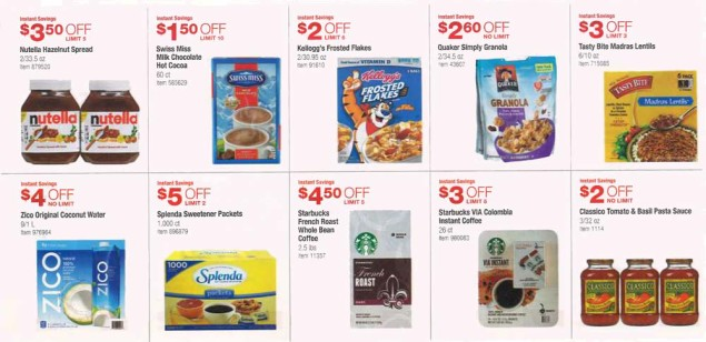 November 2015 Costco Coupon Book Page 10