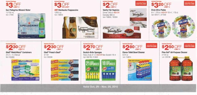 November 2015 Costco Coupon Book Page 11