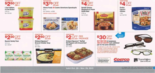 November 2015 Costco Coupon Book Page 13