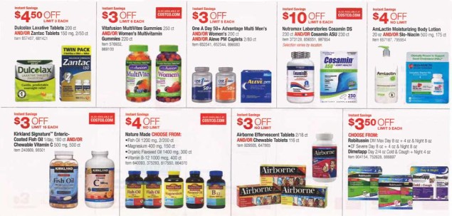 November 2015 Costco Coupon Book Page 8