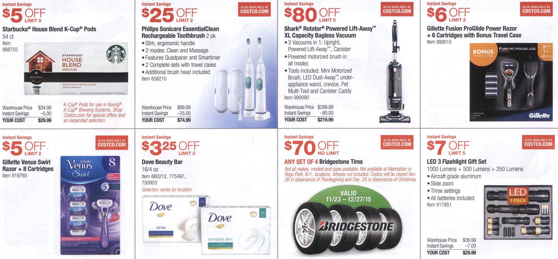 December 2015 Costco Coupon Book Page 4