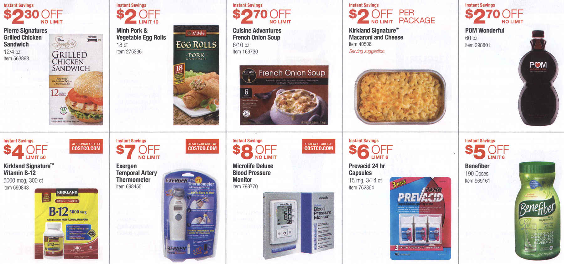 December 2015 Costco Coupon Book Page 8