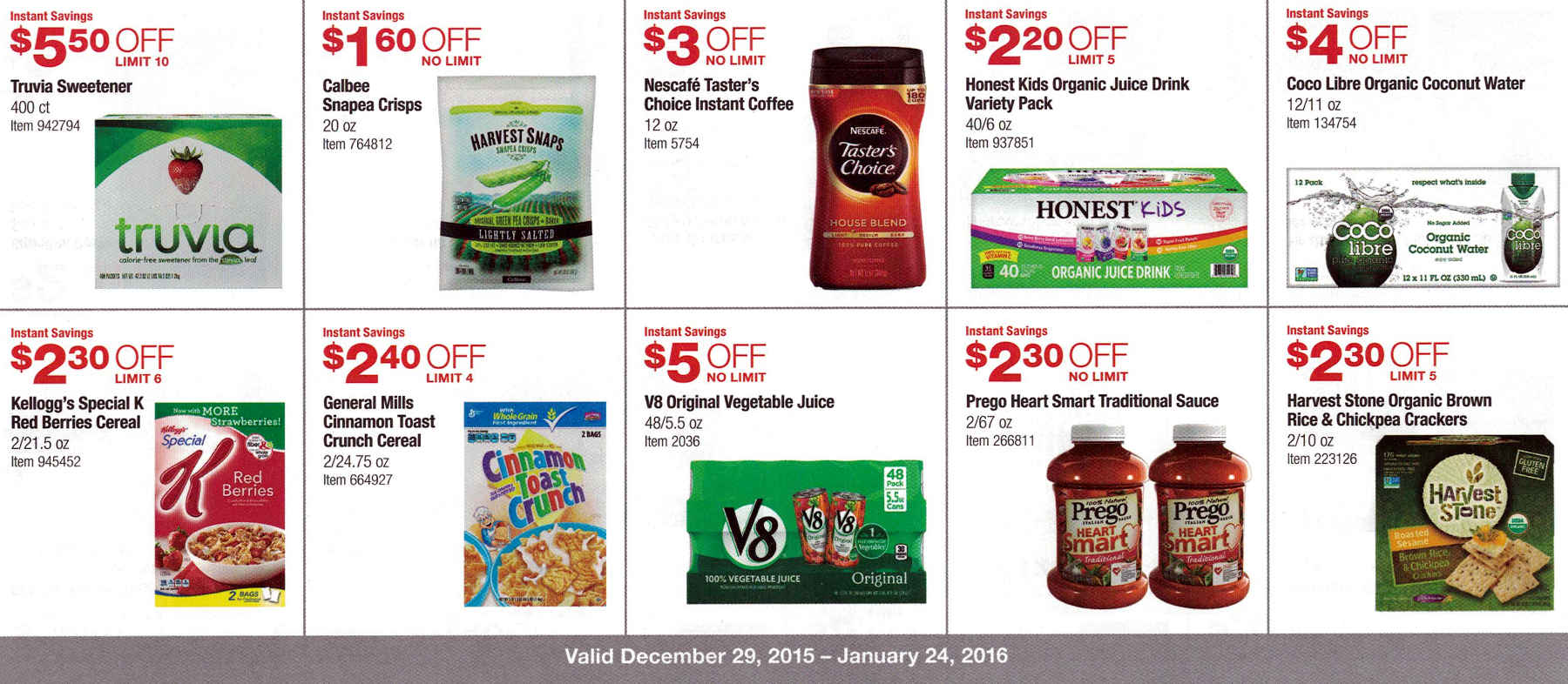 January 2016 Costco Coupon Book Page 11