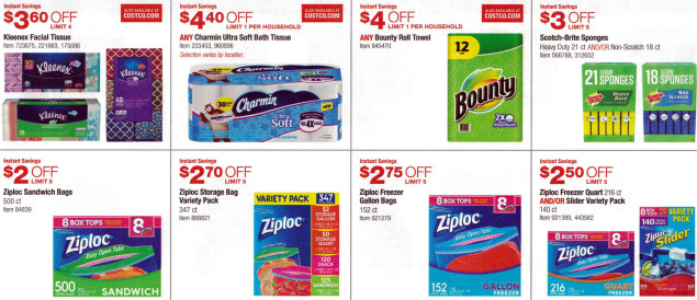 January 2016 Costco Coupon Book Page 12