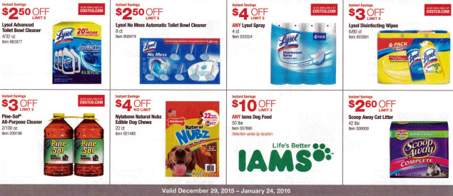 January 2016 Costco Coupon Book Page 15