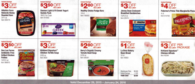 January 2016 Costco Coupon Book Page 16