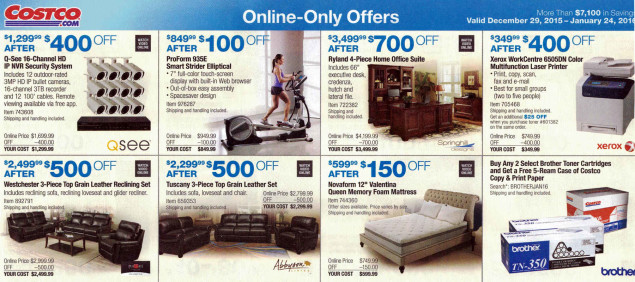 January 2016 Costco Coupon Book Page 18