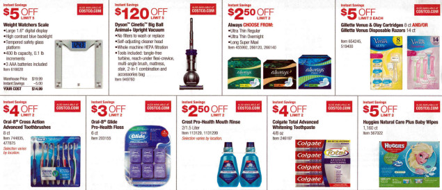 January 2016 Costco Coupon Book Page 4