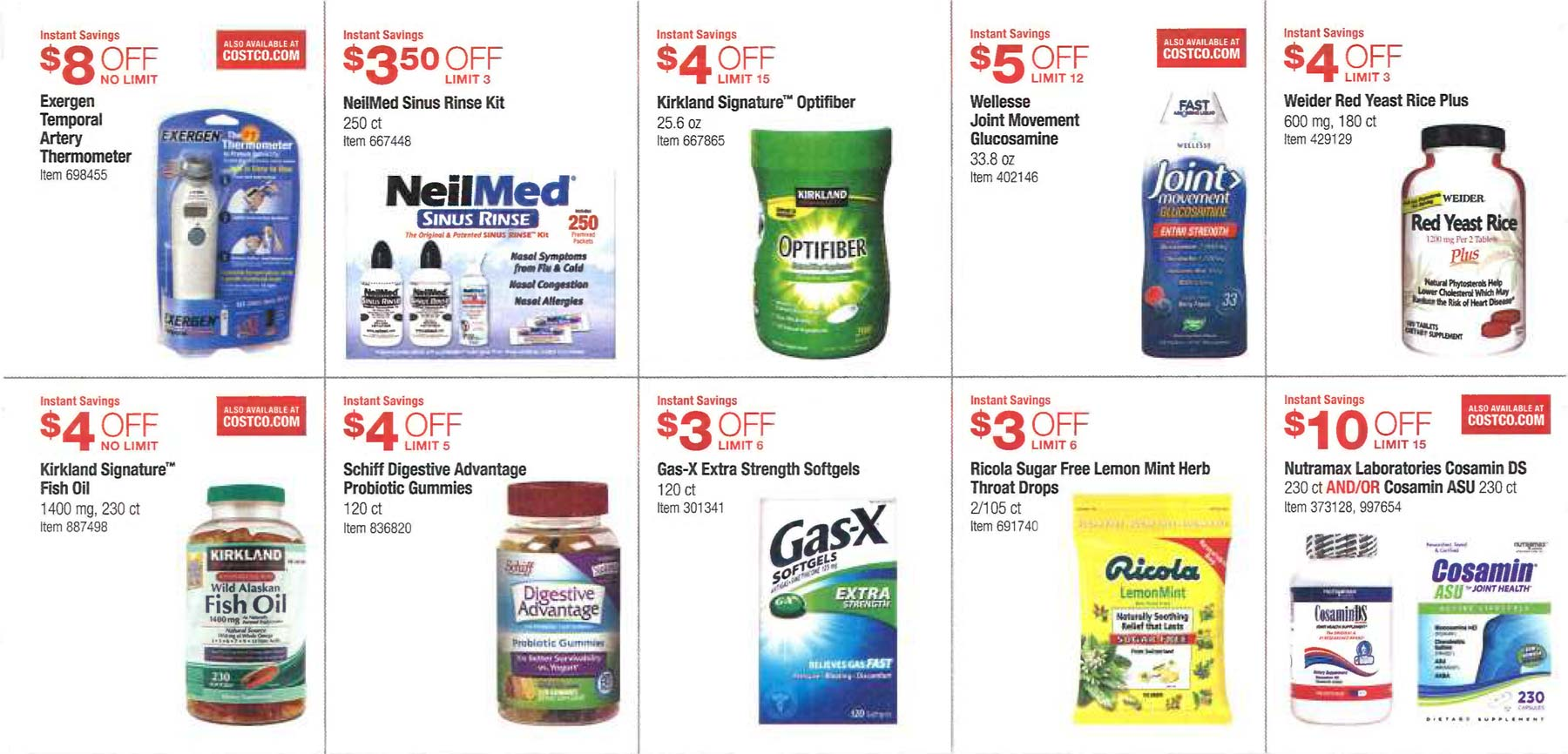 February 2016 Costco Coupon Book Page 10