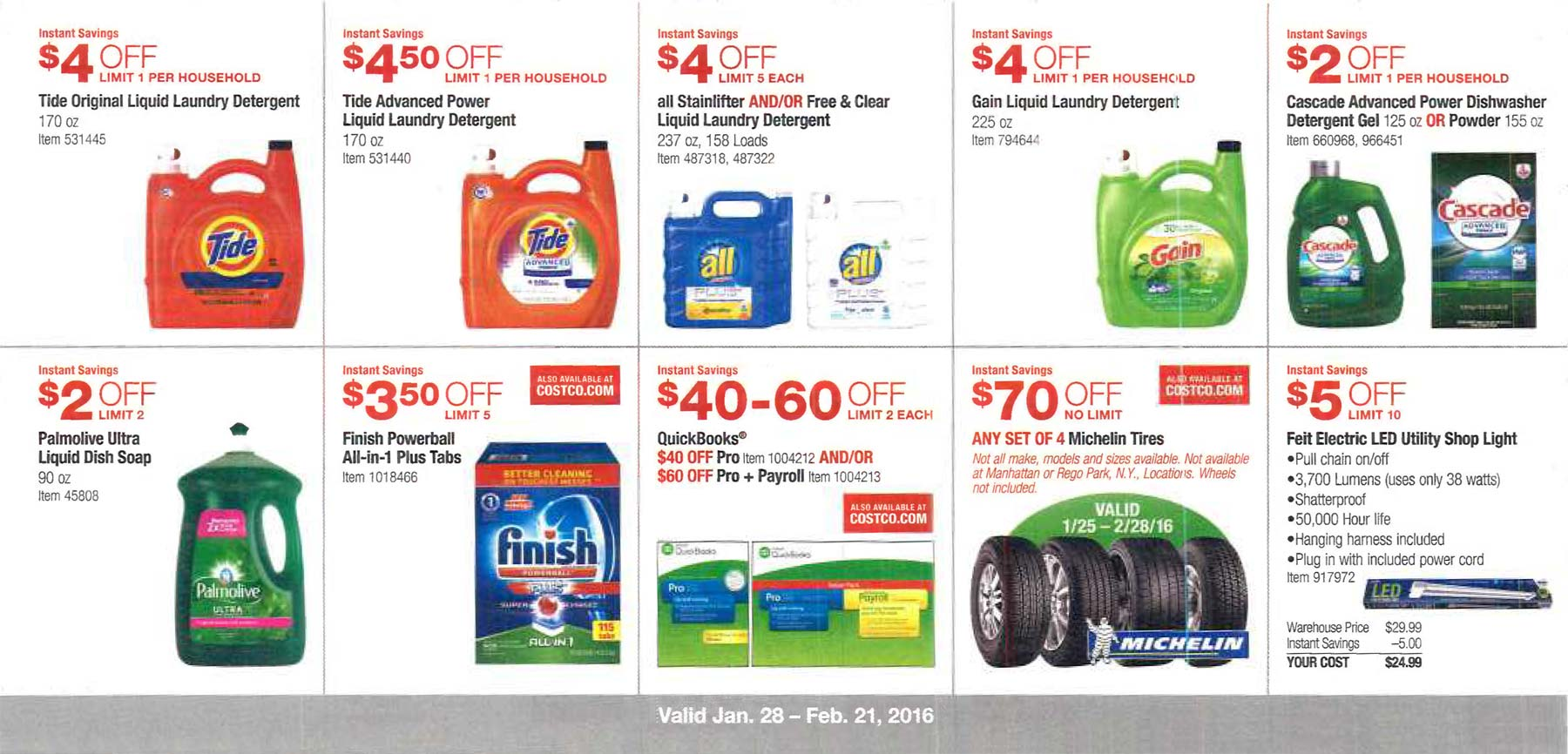 February 2016 Costco Coupon Book Page 5