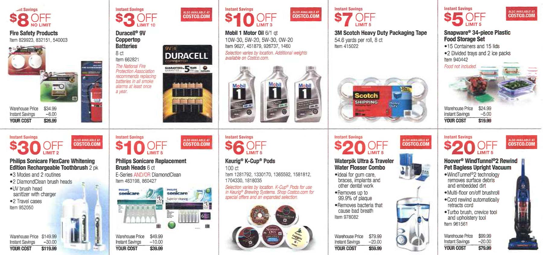 February 2016 Costco Coupon Book Page 6