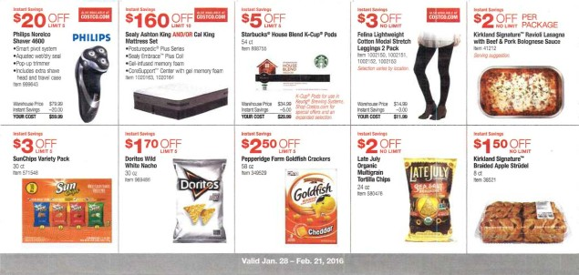 February 2016 Costco Coupon Book Page 7