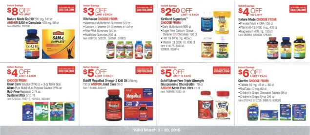March 2016 Costco Coupon Book Page 15