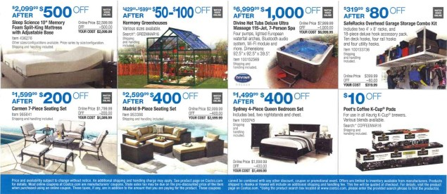 March 2016 Costco Coupon Book Page 17