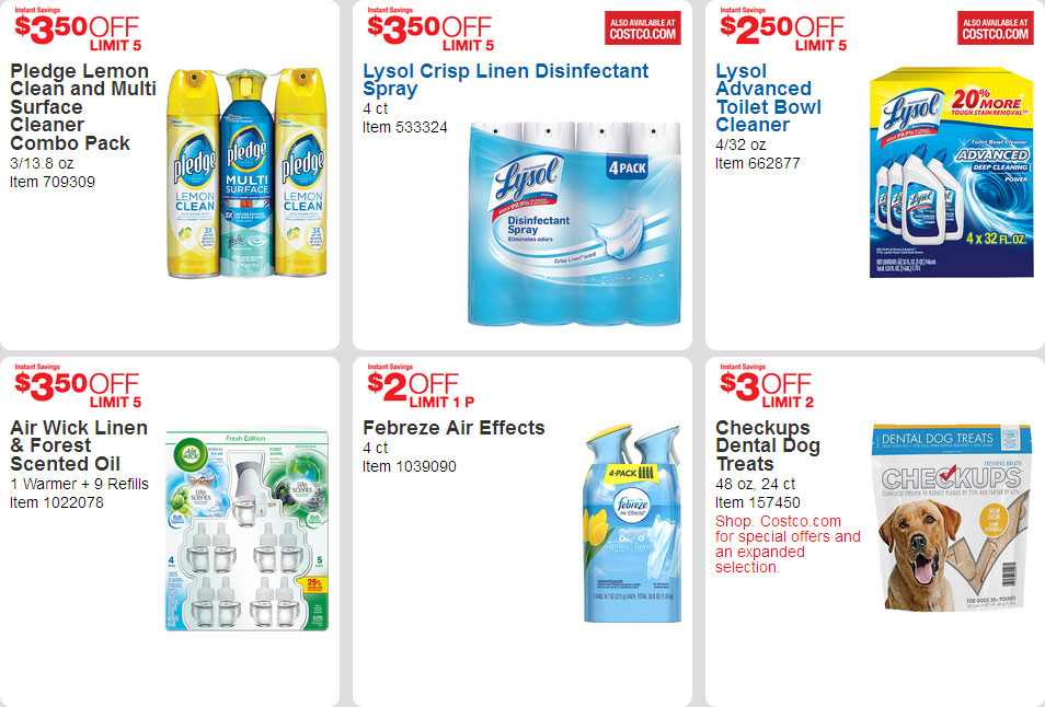 April 2016 Costco Coupon Book Page 15
