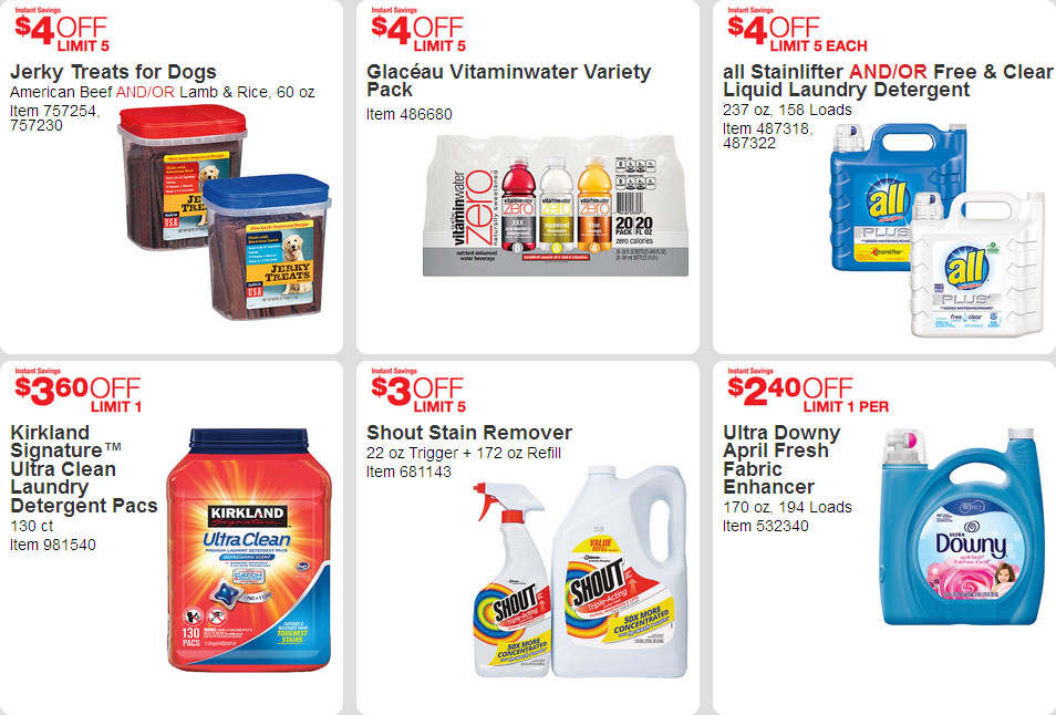 April 2016 Costco Coupon Book Page 16