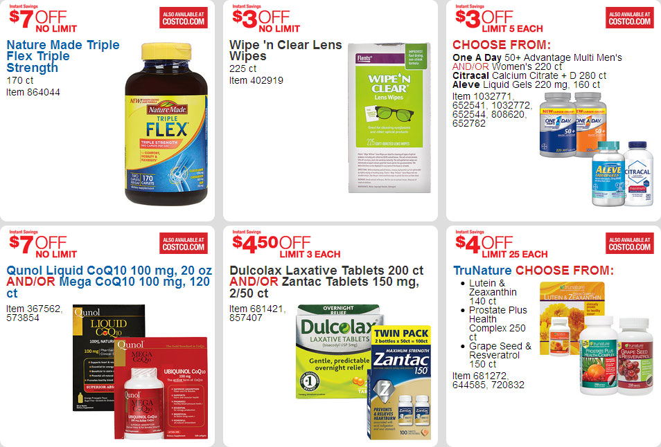 April 2016 Costco Coupon Book Page 20