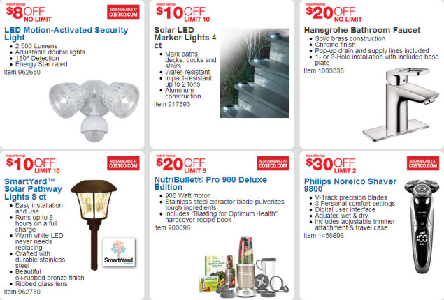 April 2016 Costco Coupon Book Page 3