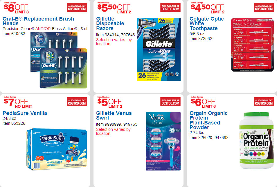 April 2016 Costco Coupon Book Page 5