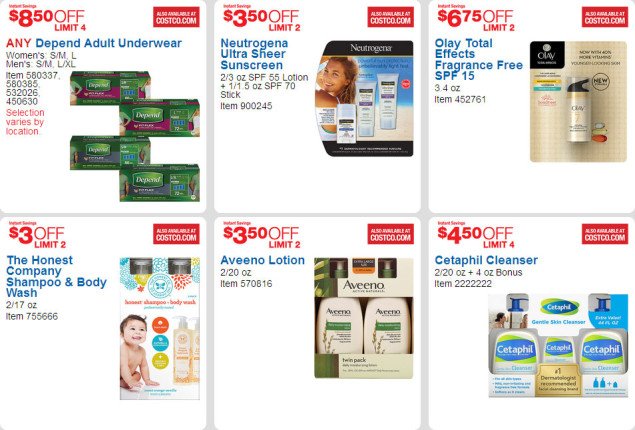 April 2016 Costco Coupon Book Page 6