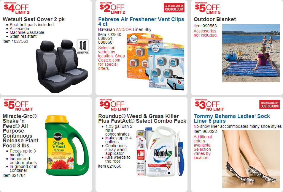 April 2016 Costco Coupon Book Page 8