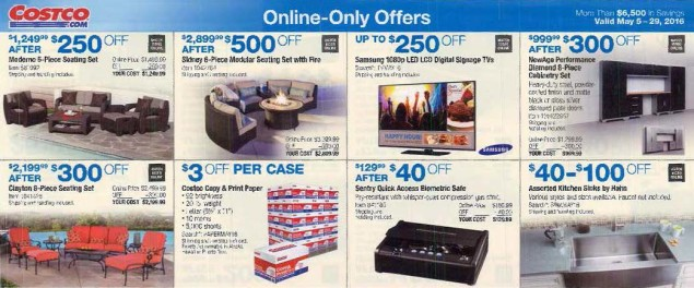May 2016 Costco Coupon Book Page 18
