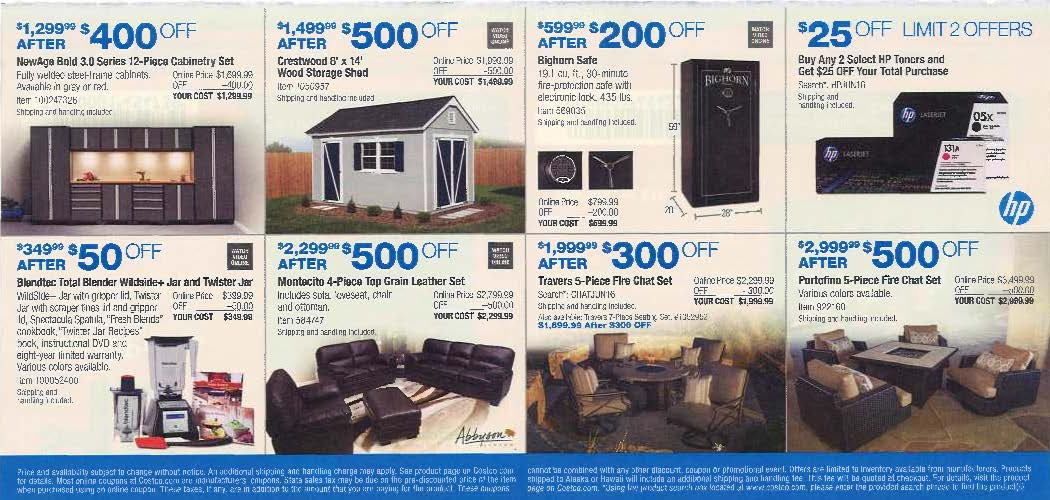 June 2016 Costco Coupon Book Page 15