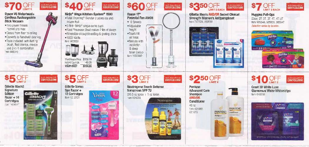June 2016 Costco Coupon Book Page 4