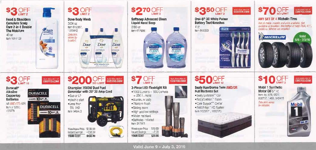 June 2016 Costco Coupon Book Page 5