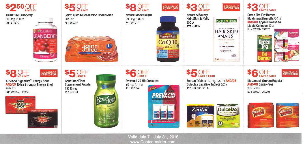 July 2016 Costco Coupon Book Page 11