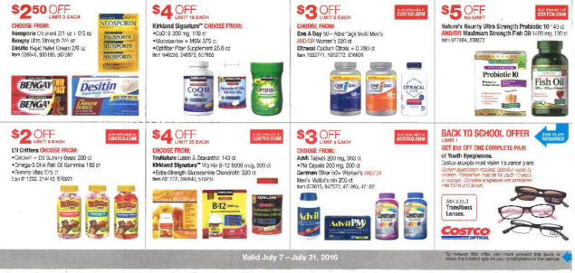 July 2016 Costco Coupon Book Page 12