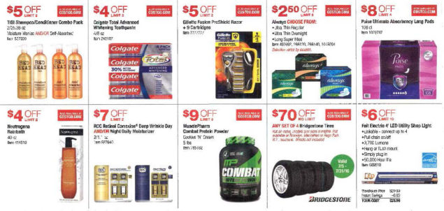 July 2016 Costco Coupon Book Page 4