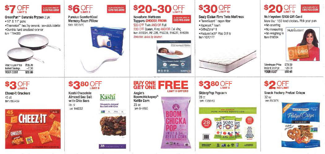 July 2016 Costco Coupon Book Page 6
