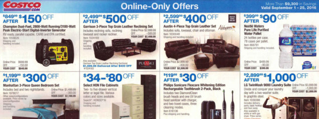 September 2016 Costco Coupon Book Page 18