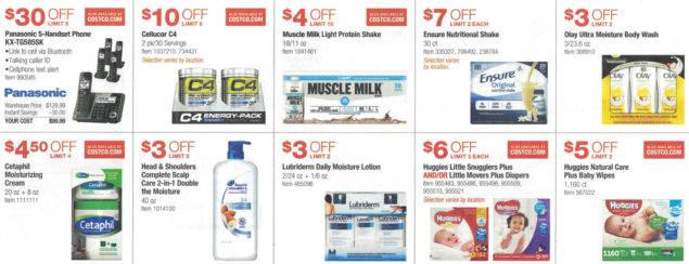 September 2016 Costco Coupon Book Page 4