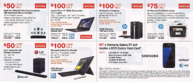 October 2016 Costco Coupon Book Page 2