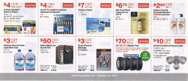 October 2016 Costco Coupon Book Page 5