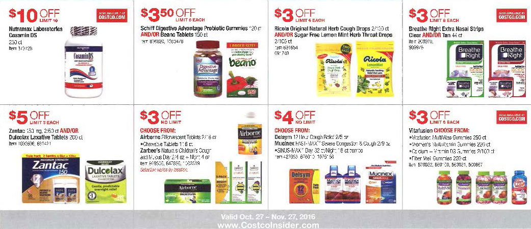 November 2016 Costco Coupon Book Page 11