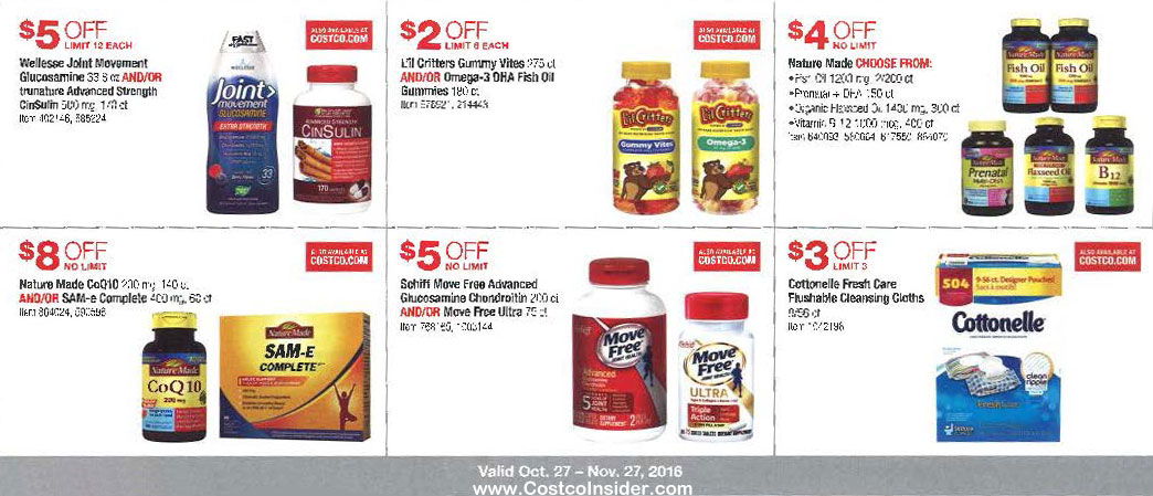 November 2016 Costco Coupon Book Page 13