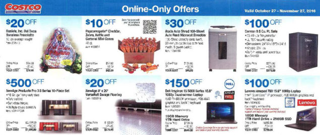 November 2016 Costco Coupon Book Page 14