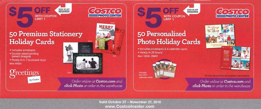 Coupon code for costco photo cards