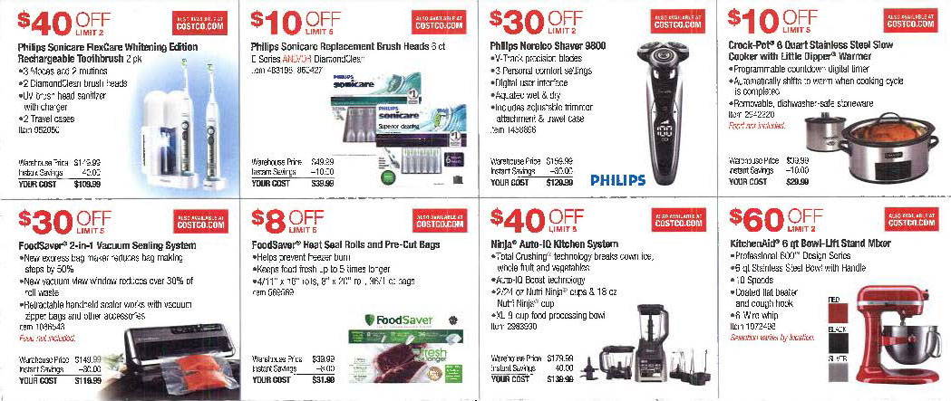 November 2016 Costco Coupon Book Page 2