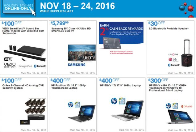 Costco Black Friday 2016 Week 2 Page 12